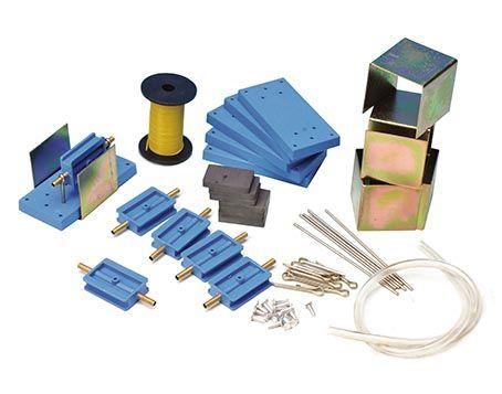 Electric motor kit, set of 6