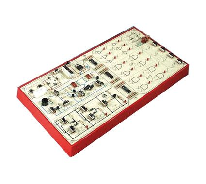 Electronics trainers digital kit, with expt. manual.