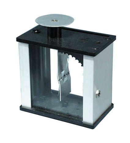 Electroscope 'Metal Vane' type, in metal housing