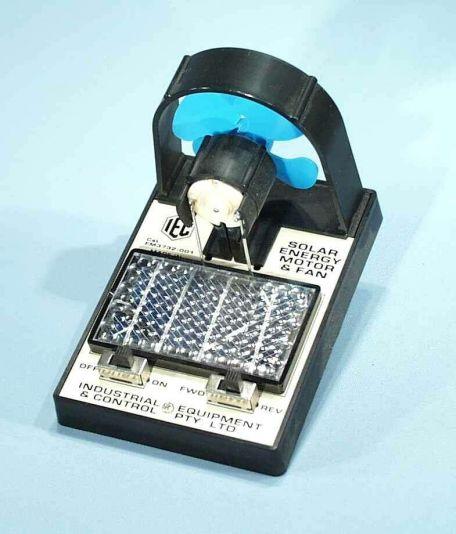 Solar Energy Motor & Fan