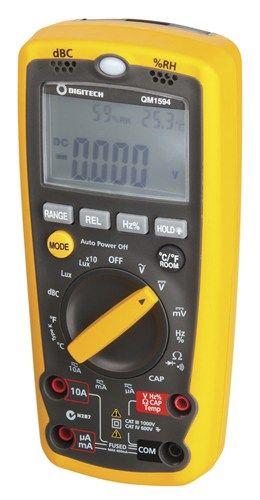 Multifunction environment meter