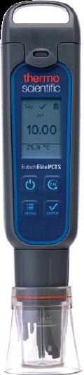 Meter, with pH/conductivity/TDS/salinity/temp