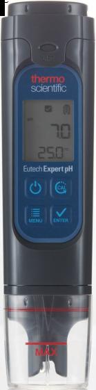 Meter, waterproof, pH, ATC