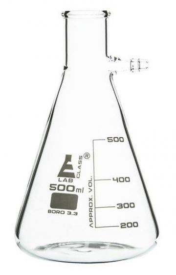 Filter Flask, glass,  500  ml.
