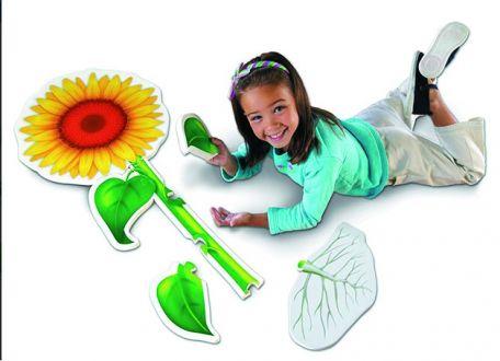 Flower Foam Floor Puzzle