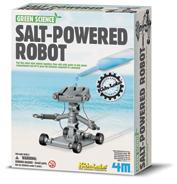 Salt powered robot kit