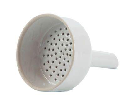 Funnel, Buchner, porcelain, for 7cm filter paper