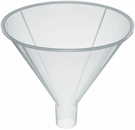 Funnel, powder, polypropylene