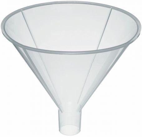 Powder funnel, PP, 100mm