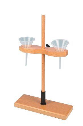 Funnel holders, Wooden