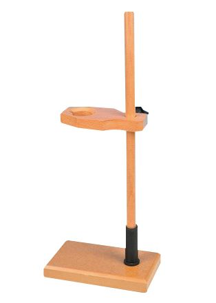 Funnel stand, single, wooden