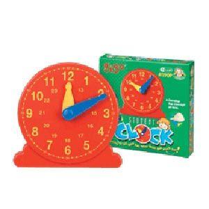 Student Clock 13cm dia., geared