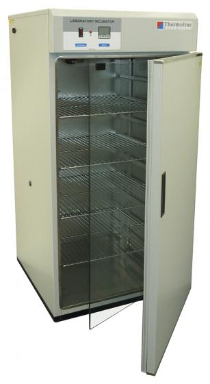 Incubator,  Inner clear door, perspex