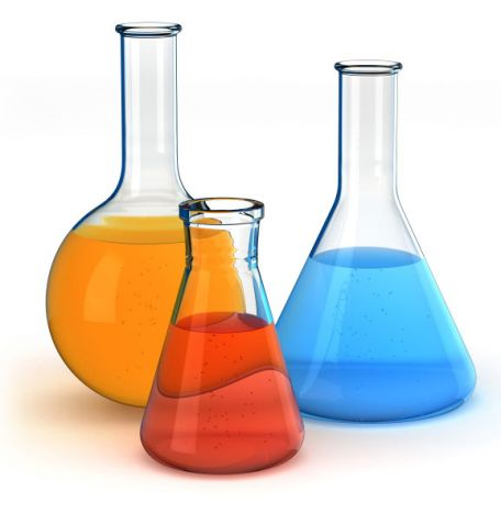 Buffer solution pH 4.0 coloured red LABCHEM 1L