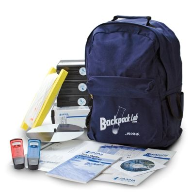 Backpack Lab Water Quality Test Kit