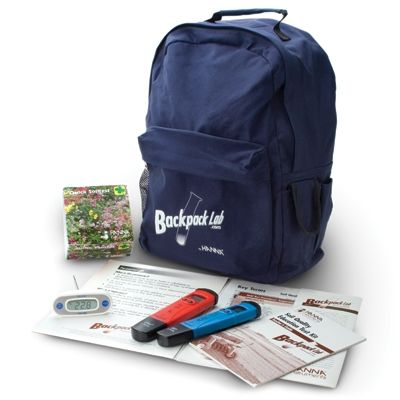 Backpack Lab Soil Quality Test Kit
