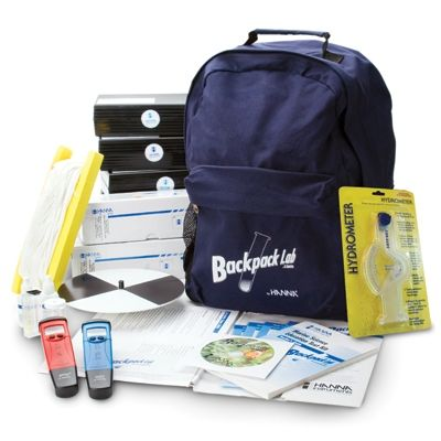 Backpack Lab Marine Quality Test Kit