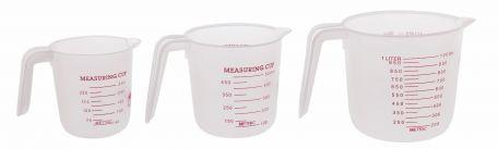 Measuring jugs, PP, set/3