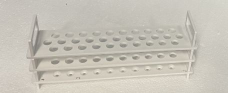Test tube rack, PP, for 31 x 12mm tubes