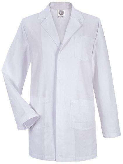 Laboratory Coat (XL), White - length 105cm, chest size 128cm