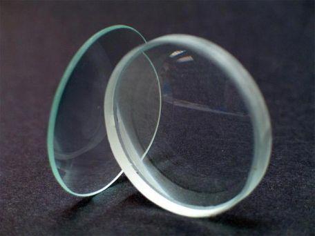 Lens, biconvex, 50mm diameter