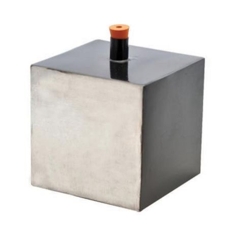 Leslie's cube, tin