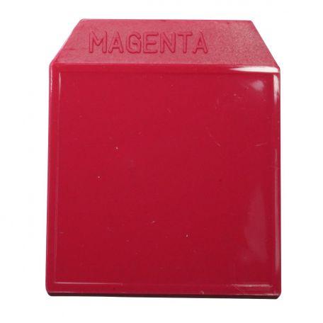Light box, colour plate, magenta