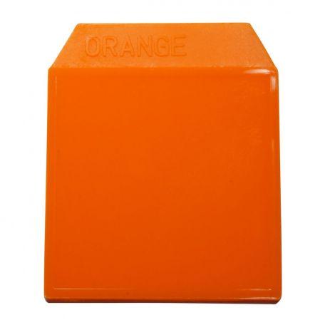 Light box, colour plate, orange