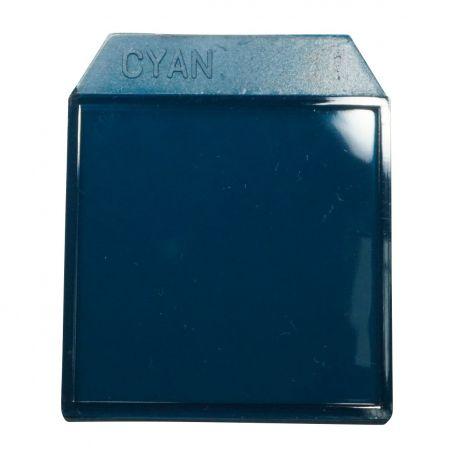Light box filters cyan - 35mm.