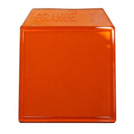 Light box filters orange - 35mm.