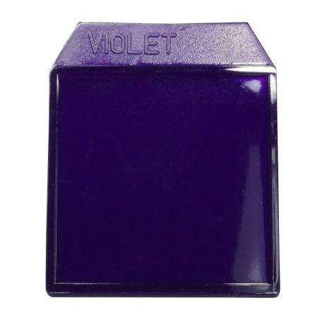 Light box filters violet - 35mm.