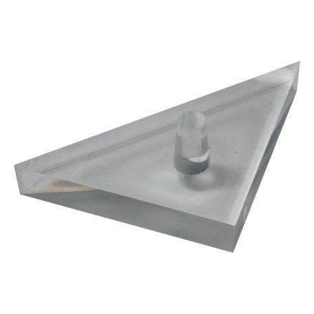 Light box spares,  prism, acrylic - 45 x 45 x 90 deg.