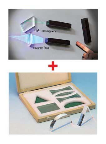 Light Source Coloured, bundle pack (light sources set + prism/lenses)