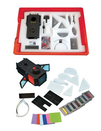 Light Box & Optical Set, Haines
