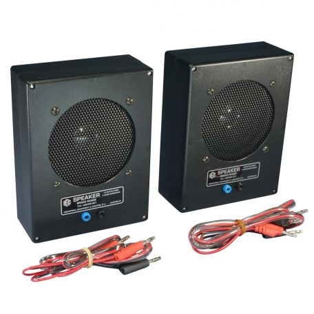 Loudspeakers large, high quality for wave study, 4 ohm/pr