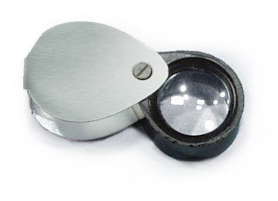 Pocket magnifier, 20mm Lens, 10x mag.