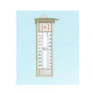 Max/min thermometer, quickset, plastic, -30 to 50C
