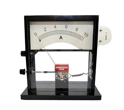 Demonstration meter, analogue, V / A / Galv