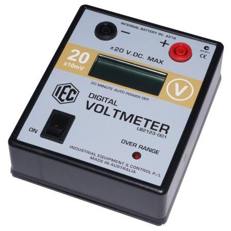 Digital voltmeter, 20V D.C. x10mV