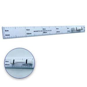 Magnetic metre ruler with handle