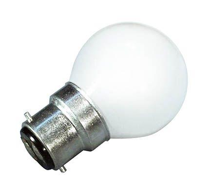 Lamps, microscope 240V 25W, BC, pearl