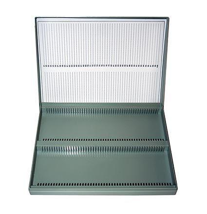 Microscope slide box, polystyrene, for slides