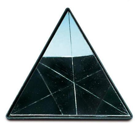 Mirror, 3 x cornered,120 mm side