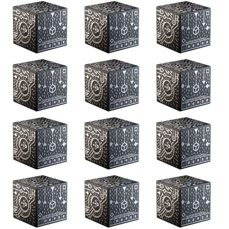 Merge holographic cube, 12 pack