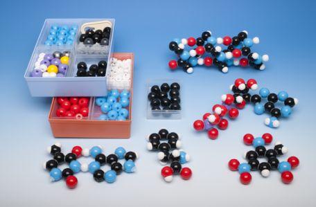 Models, Molymod,  Biochemistry, Teacher Set, 257 atoms
