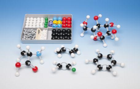 Models, Molymod,  Organic Students Set, 48 atoms