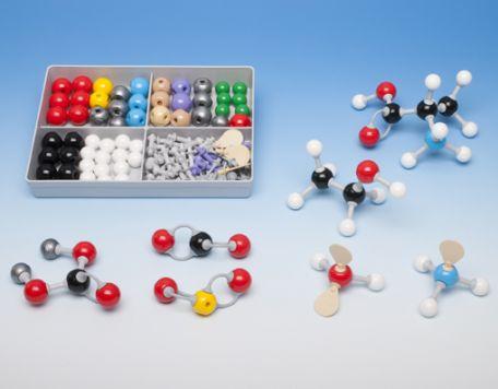 Models, Molymod,  Inorganic/Organic Student Set , 52 atoms