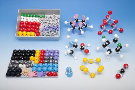 Models, Molymod,  Teach.Set, 108 atoms