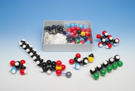 Models, Molymod,  Semi-space filling Set, 140 atoms