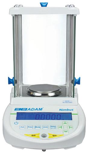 Adam NBL Nimbus Analytical Balance, 80g x 0. 0001g (internal calibration)